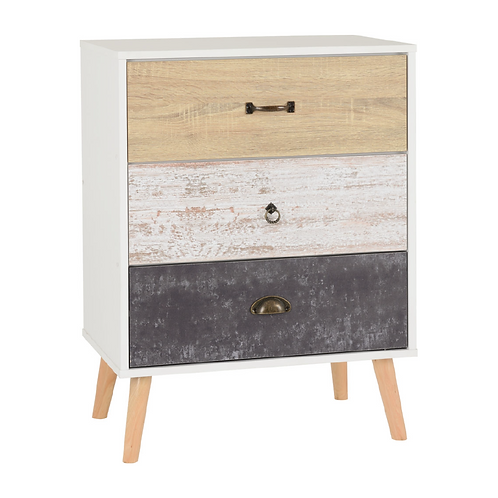 Nordic 3 Drawer Chest