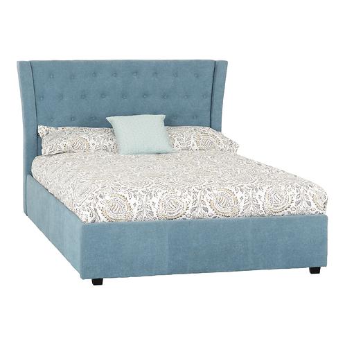 "Camden 4'6"" Bed Blue"