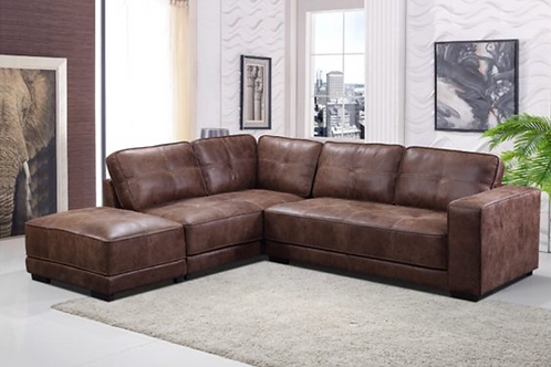 COLORADO FABRIC CORNER SOFA – Tan
