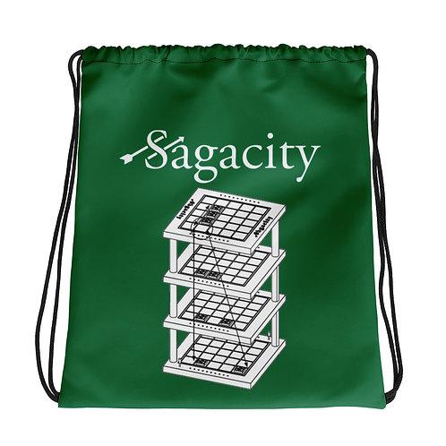 Drawstring bag Green