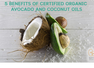 5 BENEFITS OF ORGANIC AVOCADO AND COCONUT OILS