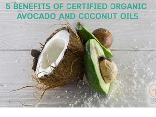 5 BENEFITS OF ORGANIC AVOCADO AND COCONUT OILS