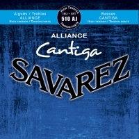 סט מיתרים לקלאסית SAVAREZ ALLIANCE CANTIGA 510AJ HT
