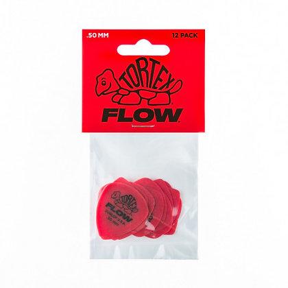 מארז 12 מפרטים DUNLOP TORTEX FLOW STD 0.50