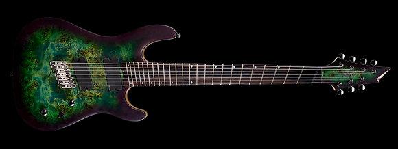 גיטרה חשמלית 7 מיתרים CORT KX500MS SDG