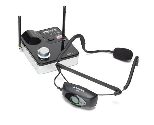 מיקרופון אלחוטי מדונה SAMSON Airline 99 AH9 Headset System