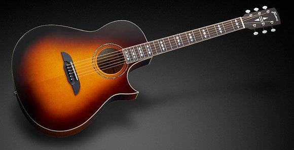 גיטרה אקוסטית מוגברת FRAMUS FC44 Concert Grand cutaway