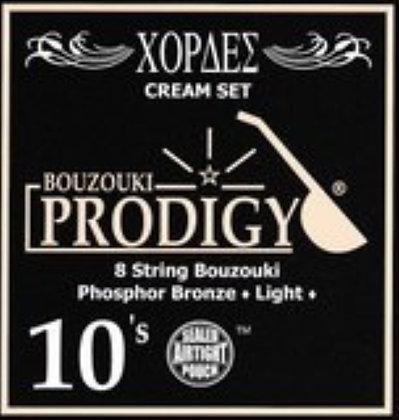 סט מיתרים לבוזוקי Prodigy CREAM Phosphor Bronze Wound 0.10