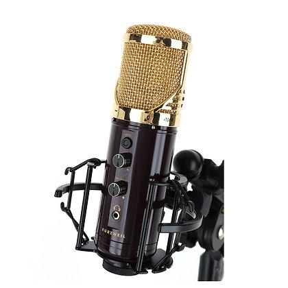 מיקרופון קונדנסר USB לאולפן KURZWEIL KM-1U GOLD