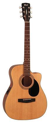 גיטרה אקוסטית מוגברת CORT AF515CE-OP CUTAWAY