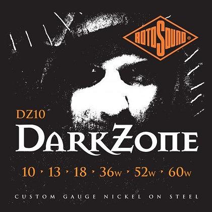 סט מיתרים 0.10 לחשמלית ROTOSOUND DARK ZONE NICKEL SPECIALTY SET 10-60