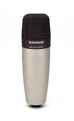 קונדנסר לאולפן SAMSON C01 Large Diaphragm Condenser