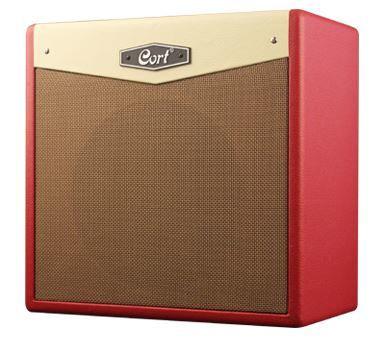מגבר לגיטרה בצבע אדום 30 ואט CORT CM30R DR BLUETOOTH
