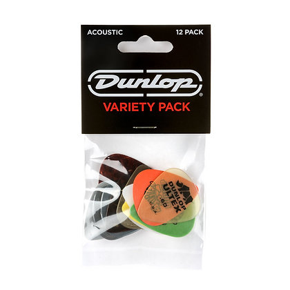 מארז 12 מפרטים DUNLOP PVP112 PICK ACOUSTIC