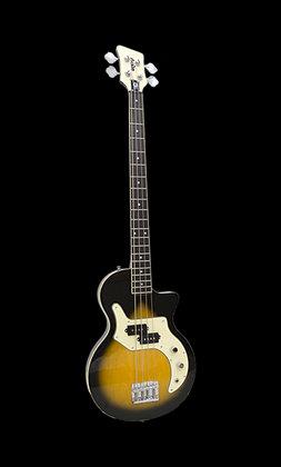 גיטרה בס + נרתיק ORANGE O BASS SUNBURST