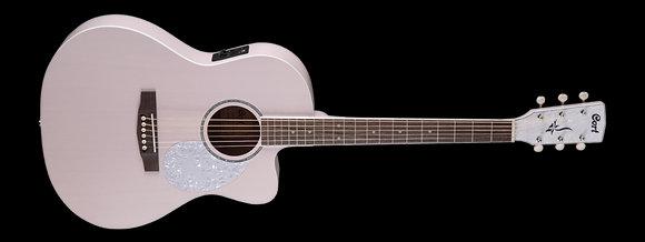 גיטרה אקוסטית מוגברת בצבע ורוד CORT Classic PPOP