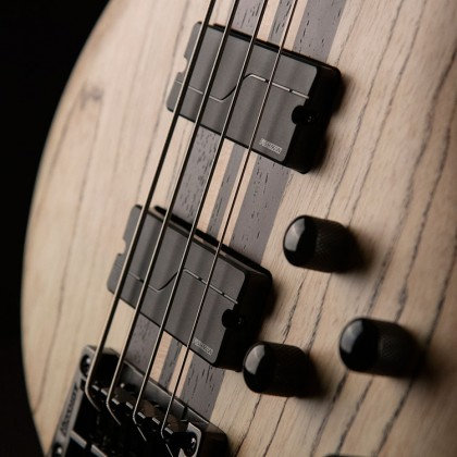 גיטרה בס אקטיבית כולל ארגז CORT A4 A4 Ultra Ash ENB