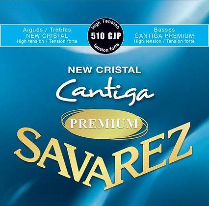 סט מיתרים לקלאסית SAVAREZ CRISTAL CANTIGA PREMIUM 510CJP HT