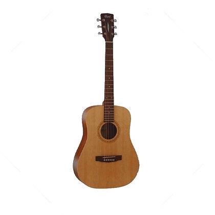 גיטרה אקוסטית מוגברת CORT EARTH 50 OP Cedar Top