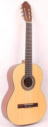 גיטרה קלאסית +נרתיק KM-3935 Spruce Top / Mahogany B&S Infinity