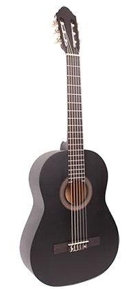 גיטרה קלאסית 3/4 שחורה + נרתיק FABIO / INFINITY KM-3611BK