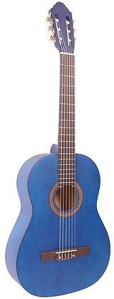 גיטרה קלאסית 3/4 כחולה + נרתיק FABIO / INFINITY KM-3611BL