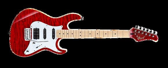 גיטרה חשמלית 3 סינגלים CORT G250DX TR