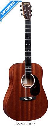 גיטרה אקוסטית מוגברת + נרתיק MARTIN DJR10E-01 SAPELE