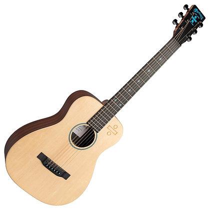 גיטרה אקוסטית מוגברת + נרתיק MARTIN LX1 ED SHEERAN 3
