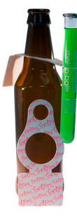 Tooter Beer Tag