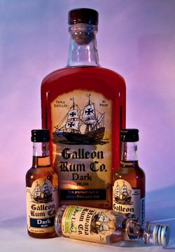 Galleon Rum Co All bottles