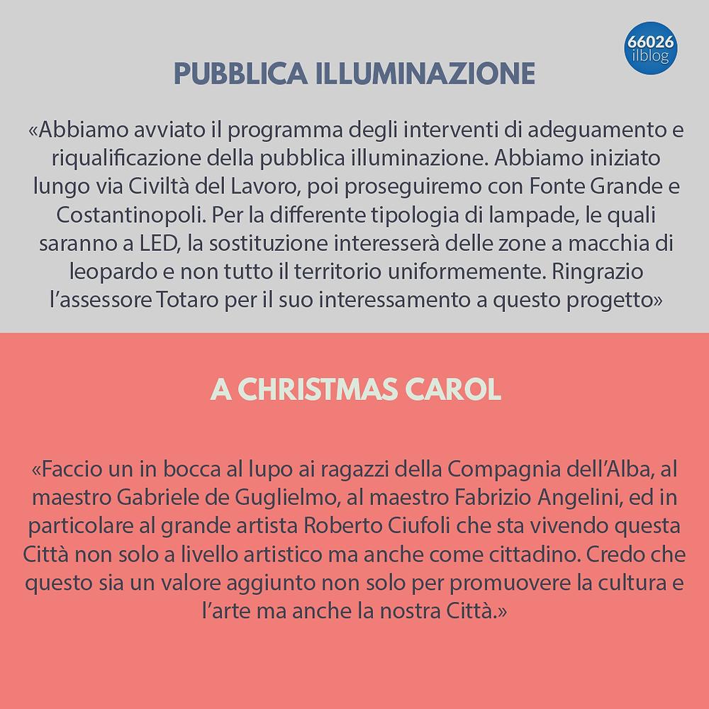 comunicazioni del Sindaco Leo Castiglione 4