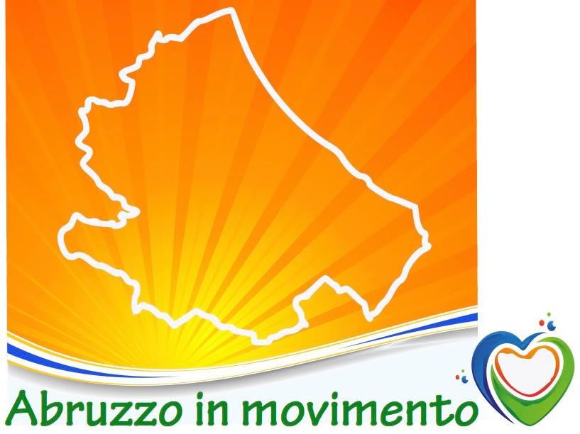 """Il logo dell'associazione """"Abruzzo in Movimento"""""""