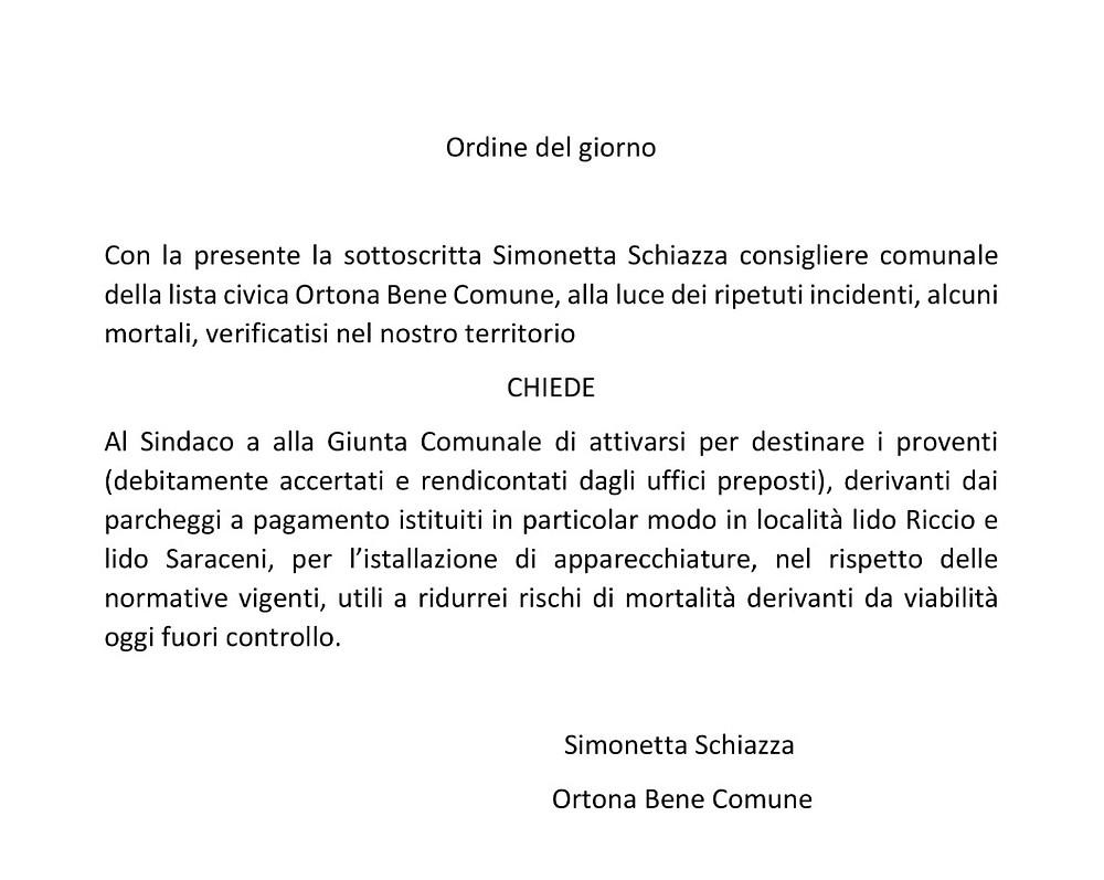 odg Simonetta Schiazza