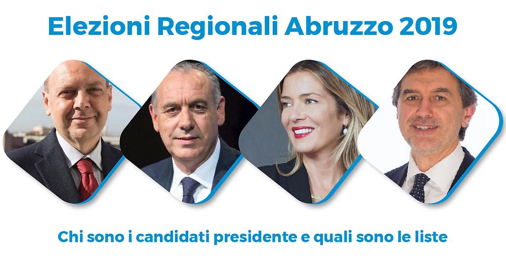 Elezioni Regionali Abruzzo 2019