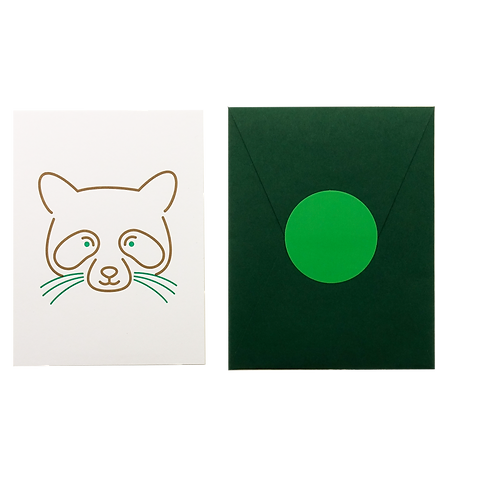 Animal Card_Raccoon
