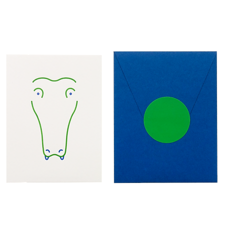 Animal Card_Crocodile