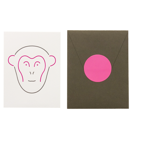 Animal Card_Monkey