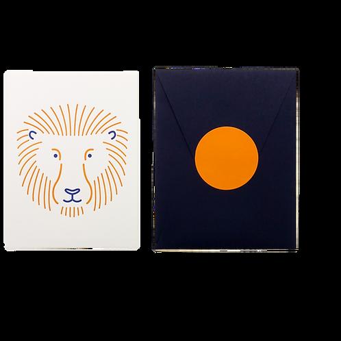 Animal Card_Lion
