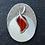 Thumbnail: CLASSIC Ovale Oeil de chat Rouge