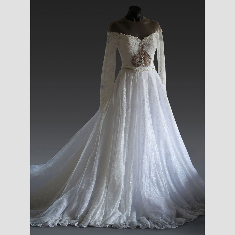 The Florence Gown, Front