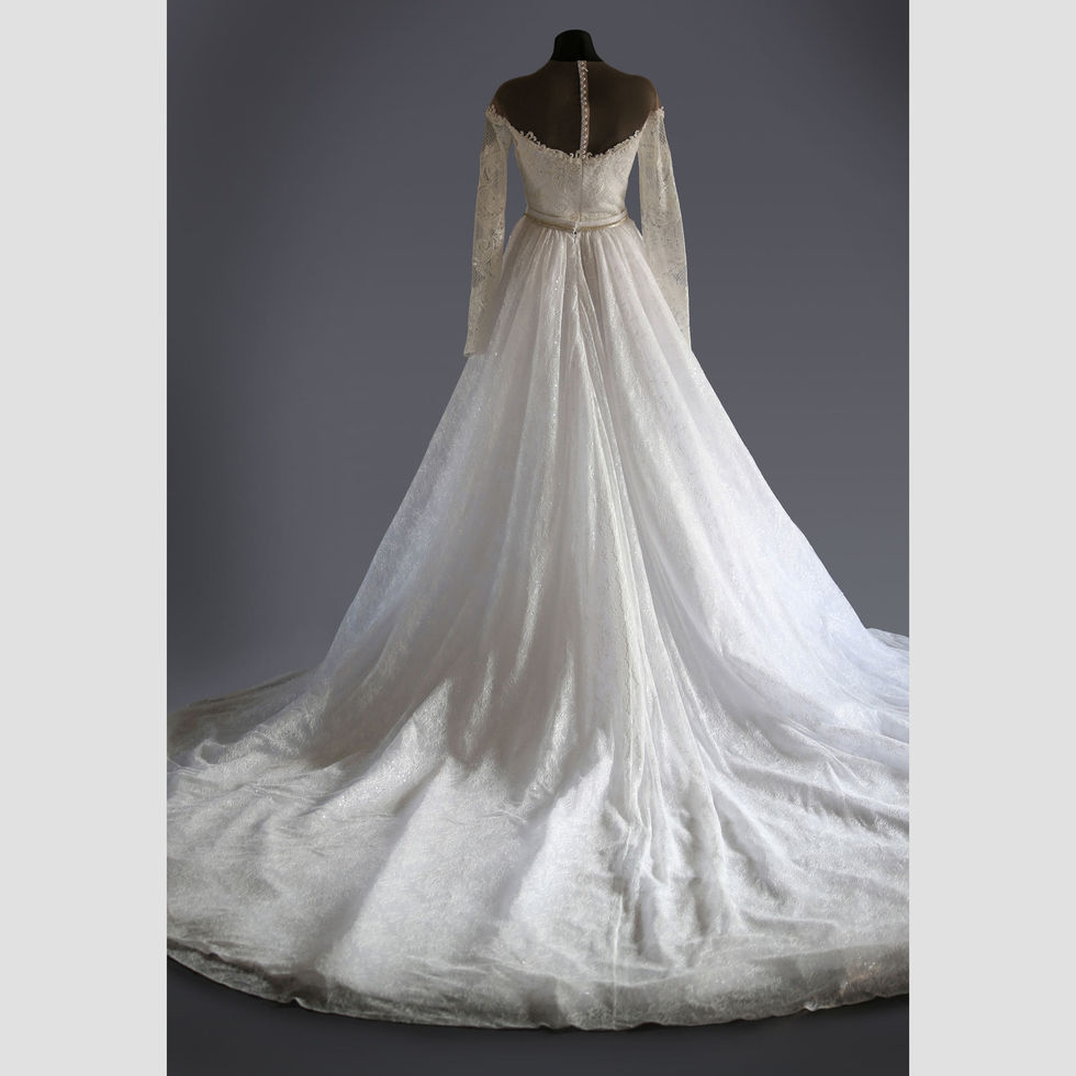 The Florence Gown, Back