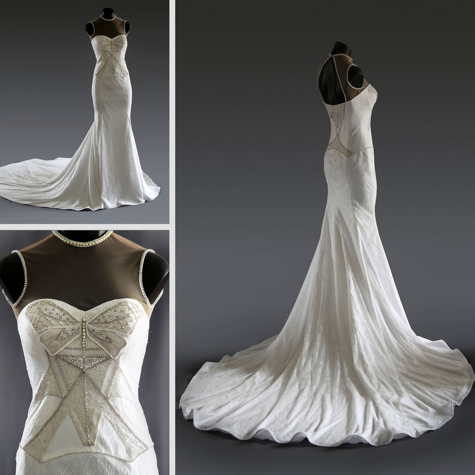 The Amber Gown