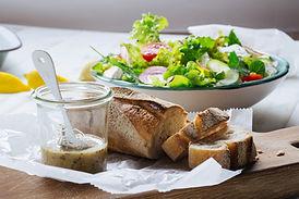 Salade en brood