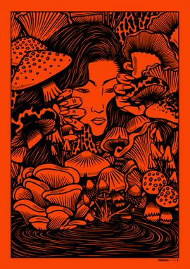 Mushroom Faerie
