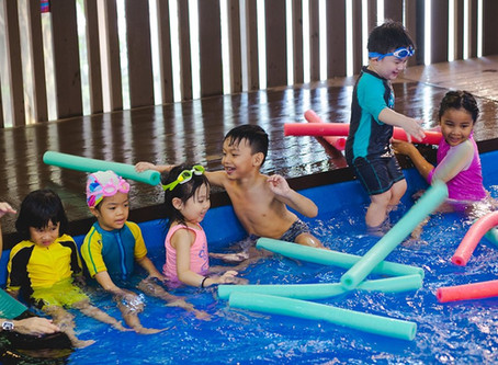 THINGS WE LEARNED HOSTING 80 KIDS TO SWIM & PLAY