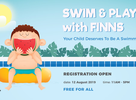 SWIM & PLAY with FINNS - 12 AUG