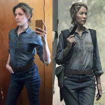 """Stunt double for Jenna Elman on """"Fear The Walking Dead"""""""