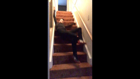 Falling down stairs #2020mood