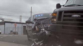 The Blacklist (NBC) - Car crash (as passenger stunt double)